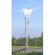 Факельная установка вертикальная фото