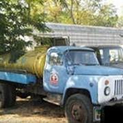 Цистерна ГАЗ-53 фото
