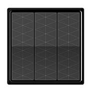 Беспроводной выключатель Z-Light 0333 (3 клавишы, черный) фото