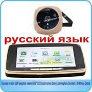 """Дверной GSM смарт видеоглазок """"Door Cam Viewer"""" с возможностью оповещения на мобильный телефон, с сенсорным ЖК-экраном 5"""" + карта памяти 2GB в подарок фото"""