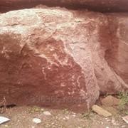 Базальт красный армянский фото