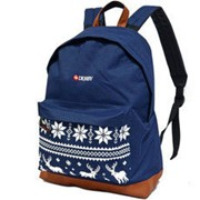 Рюкзак классический олени DERBY с карманом для ноутбука 14* Синий фото