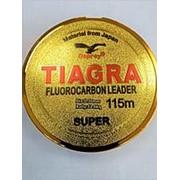 Флюрокарбон Tiagra 100 м, 0.35 мм, 15,2 кг, прозрачный фото