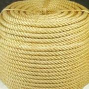 Веревка джутовая фото