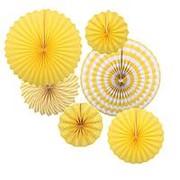 Набор Фант бумажный, жёлтый, 6шт., 5951 фото