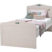 """Кровать """"Flora"""" классическая (размер спального места 90 х 2000 см) фото"""