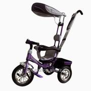 Велосипед 3-х колесный Mini Trike надувные (фиолетовый) фото