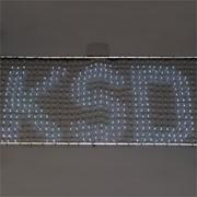 Гирлянда-сетка LED Бегущая строка фото