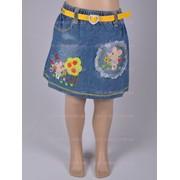 Юбка джинсовая весна 5344 фото