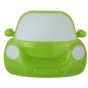 Camelion NL-197 ночник св/д 0.5W 95x75x80 Машинка зеленая, 220V, пластик, выкл. фото