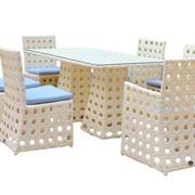 Комплект плетеной мебели Чиллаут 3 фото
