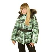 """Куртка для девочки """"Амалия"""" фото"""