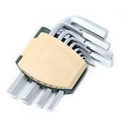 Набор ключей ROCK FORCE Г-образных дюймовых 6-гранных 13предметов фото