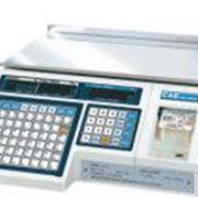 CAS LP-15 Весы с печатью этикетки (Ver.-1.6) фото