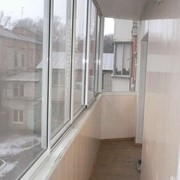 Застекление балкона Днепровский р-н фотография