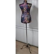 Манекен швейный женский уплотненный чехол карсет фото