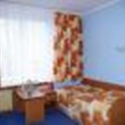 Гостиничный номер: Однокомнатный двухместный фото