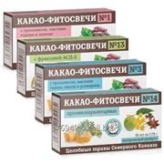 Какао фитосвечи (100% натуральный продукт) фото