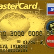 Услуги по обслуживанию платежных карт MASTERCARD GOLD фото