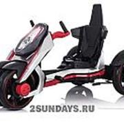Детский веломобиль Nexus Car Velo красно-серый фото