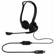 Наушники Logitech PC 960 Stereo Headset USB (981-000100) фото