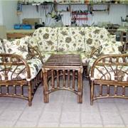 Изготовление плетеной мебели фото