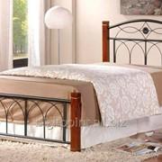 Кровать Миранда М односпальная каштан (90х200) фото