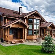 Покраска домов в 1 слой без учета ЛКМ. фото