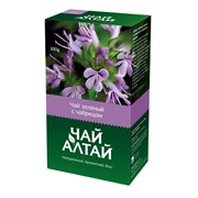 Чай Алтай зеленый с чабрецом фото