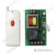 Электрический выключатель на 220В с реле на 50А, с обучающей кнопкой и брелком ДУ радиус действия которого до 1000 метров фото