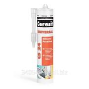 Герметик силиконовый Ceresit CS 24 универсальный прозрачный фото