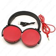 Накладные наушники Wireless ExtraBass 350BT (красные) фото
