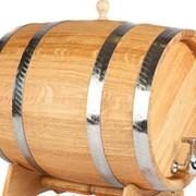 Бочка для вина и коньяка из дуба на 30 литров фото