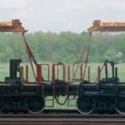 Краны для погрузки,перевозки рельсов модульные МКУ фото
