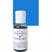 Гелевый краситель AmeriColor 21г. №160 Электрик Синий Electric Blue фото