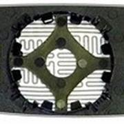 Элемент зеркальный левый плоский с обогревом VOLKSWAGEN Golf III 91-97 L.Pl.Crom. фото