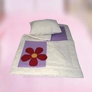 """Комплект детский (одеяло и подушка) """"Аппликация""""Bella Donna фото"""