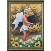 """Набор для вышивания бисером """"Мой ангел"""" Б-017 фото"""