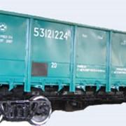 Полувагоны люковые 4-осные модели 12-9745 предназначены для эксплуатации по железным дорогам Украины, стран СНГ, Литвы, Латвии и Эстонии, имеют сертификаты соответствия по УкрСЕПРО и РСФЖТ. фото