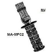 Гребенка MA-MFC2 Metal fin comb w handle фото