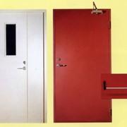 Монтаж и наладка систем противопожарной автоматики, двери фото