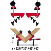 Система угловых струбцин Bessey MCX фото