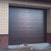 Ворота секционные гаражные фото