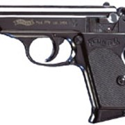 Пистолет газовый Walther PPK фото