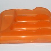 Вкладыш для столовых приборов (цв.оранжевый) 770113 фото