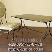 Кованый стол Модель КСТ-031 фото