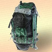 Рюкзак рыбака и туриста, зеленый 60 л фото
