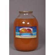 Сок морковно-яблочный натуральный 3л. фото