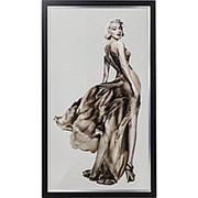 Картина в рамке Marilyn, коллекция Мэрилин 100х172х4см. арт.64657 KARE фото