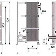 Теплообменник ТОР-15 трёхходовой фото